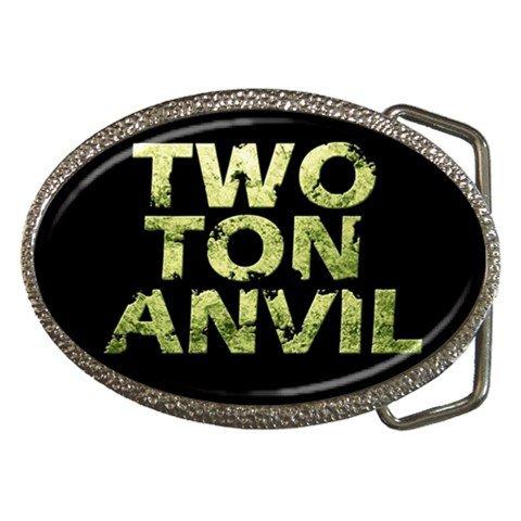 Two Ton Anvil Belt Buckle
