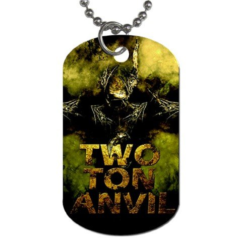 Two Ton Anvil 2 Sided Dog Tag and Chain
