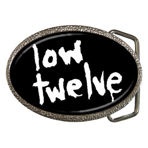 Low Twelve Belt Buckle