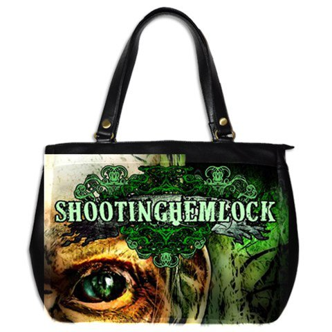 Shooting Hemlock Leather Handbag