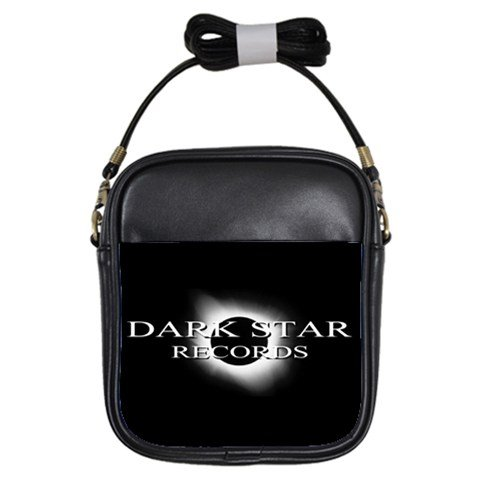 Dark Star Records Leather Sling Bag 2