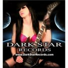 Dark Star Records Shower Curtain 66 x 72