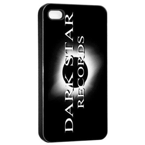 Dark Star Records iphone 4 Seamless Case Black