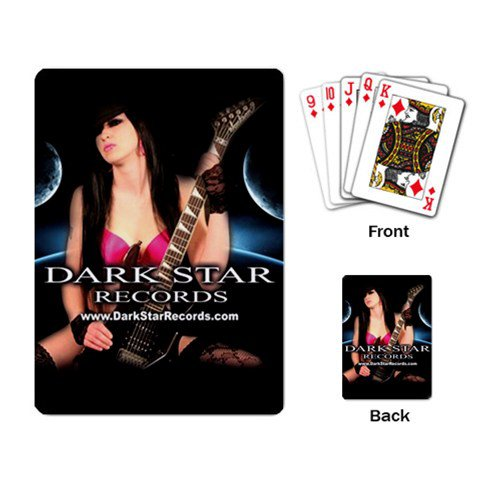 Dark Star Records Playing Cards