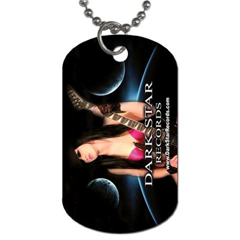 Dark Star Records 2 Sided Dog Tag and Chain 2