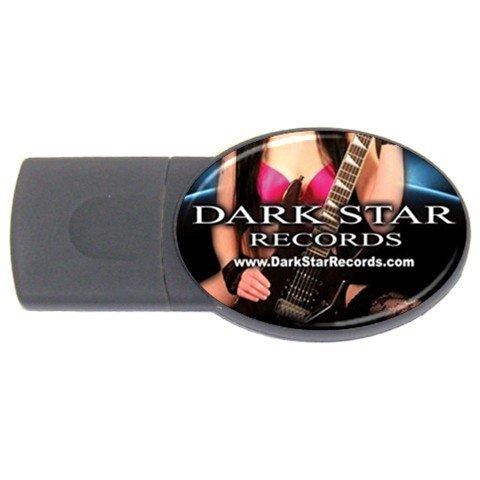 Dark Star Records USB Flash Drive Oval 2 GB