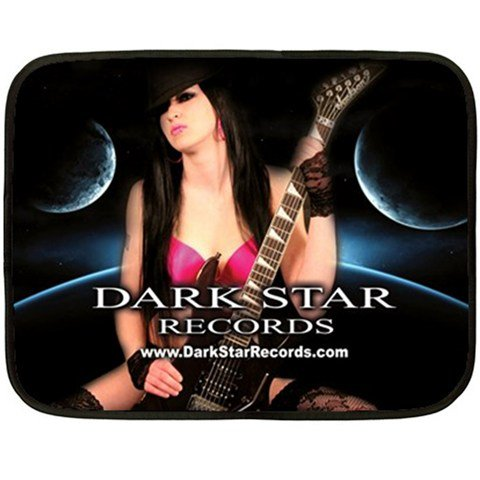 Dark Star Records Two Sided Fleece Blanket