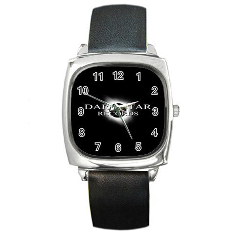 Dark Star Records Square Metal Watch 3