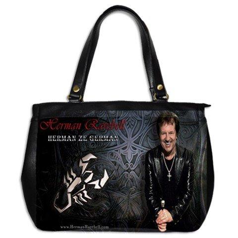 Herman Rarebell Leather Handbag