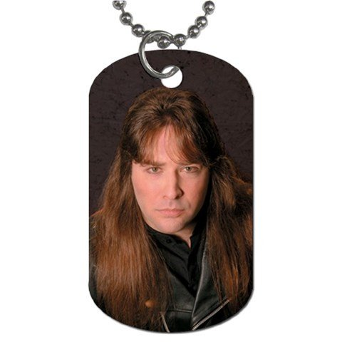 David Shankle 2 Sided Dog Tag and Chain