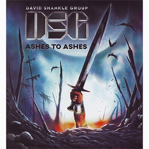 David Shankle Group Ashes to Ashes Shower Curtain 66 x 72