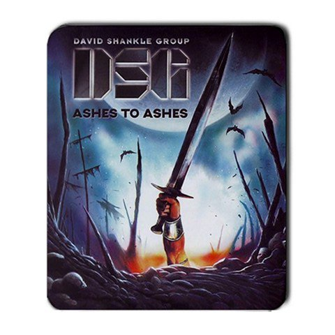 David Shankle Group Ashes to Ashes Large Mousepad