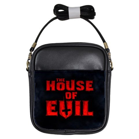 The House of Evil Leather Sling Bag 1
