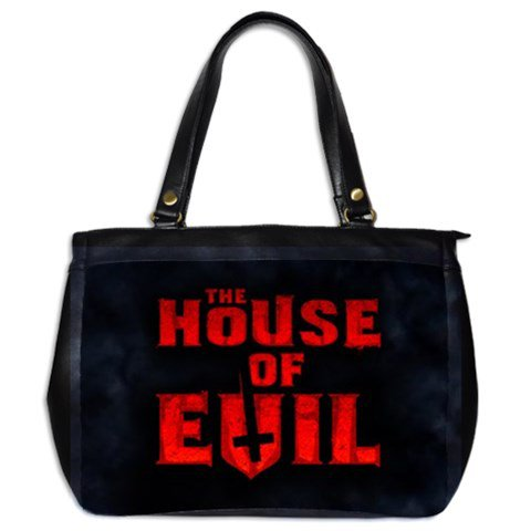 The House of Evil Leather Handbag