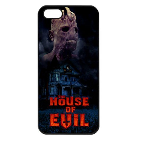 The House of Evil iphone 5 Seamless Case Black