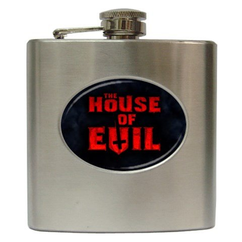 The House of Evil Hip Flask 6 oz