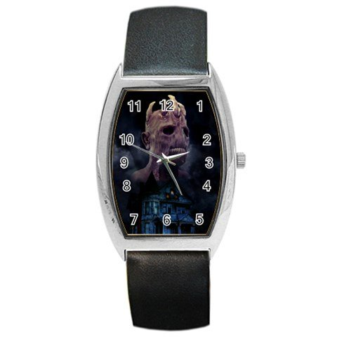 The House of Evil Barrel Style Metal Watch 3
