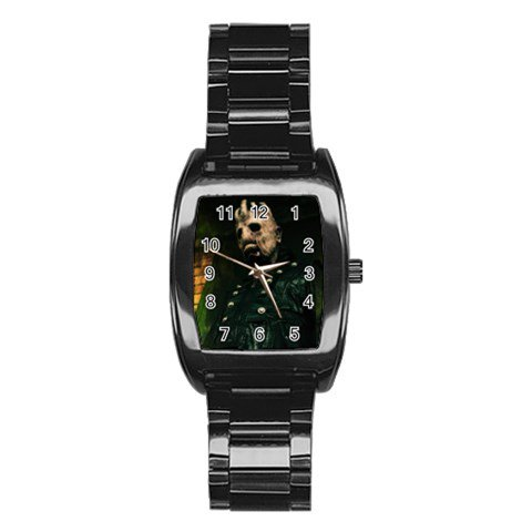 The House of Evil Stainless Steel Barrel Analog Watch 2