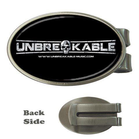 UNBREAKABLE Oval Money Clip