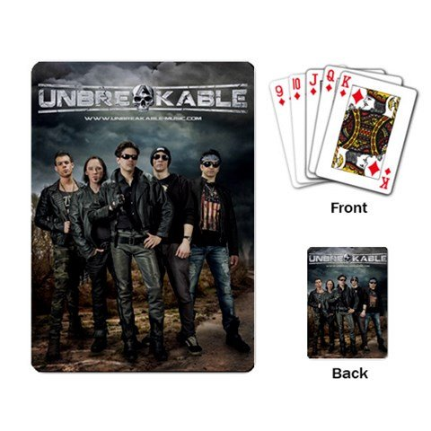 UNBREAKABLE Playing Cards