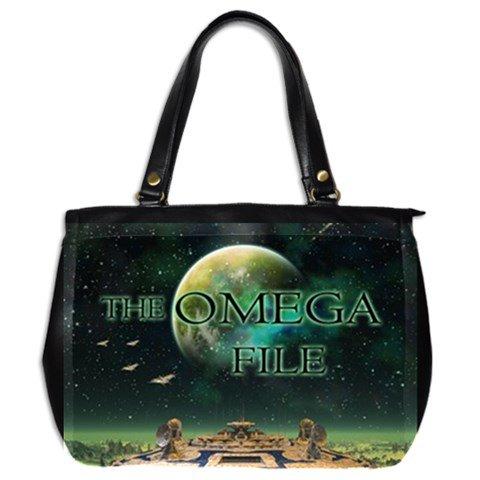 The Omega File Leather Handbag