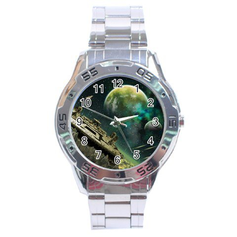 The Omega File Stainless Steel Analogue Men�s Watch