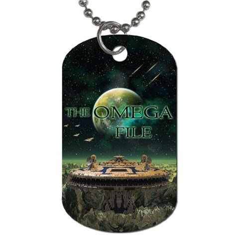 The Omega File 2 Sided Dog Tag and Chain