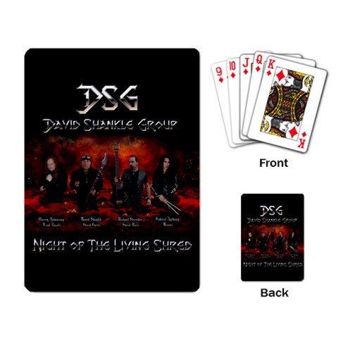 David Shankle Group Playing Cards