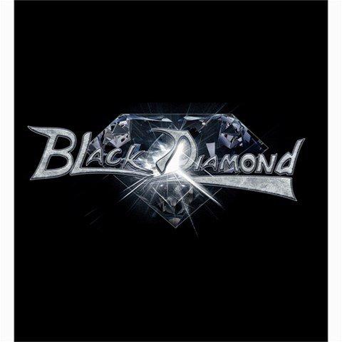 Black Diamond Shower Curtain 66 x 72