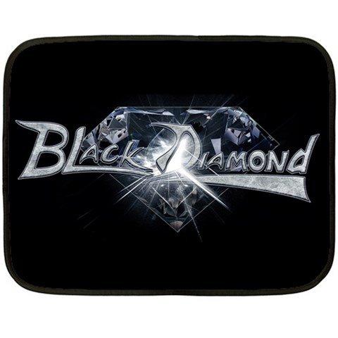 Black Diamond Two Sided Fleece Blanket