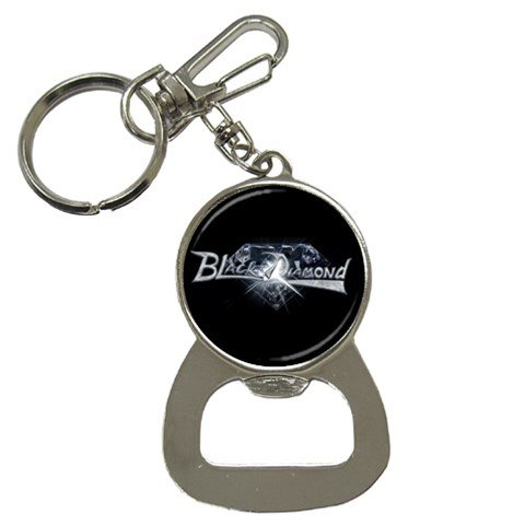 Black Diamond Bottle Opener Key Chain