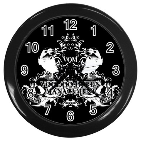 Voodoo Queen Management Wall Clock