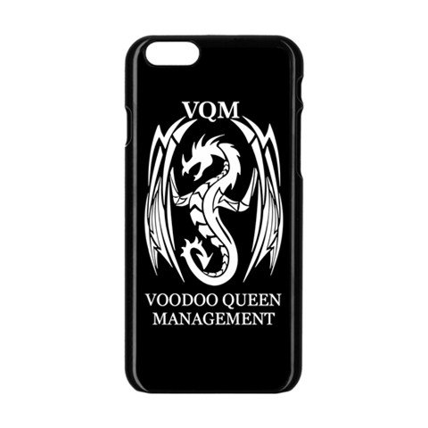 Voodoo Queen Management iphone 6 Enamel Case Black