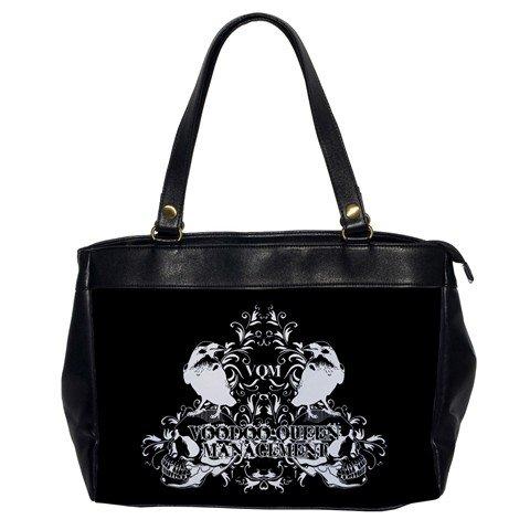 Voodoo Queen Management Leather Handbag