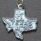 Vintage Sterling Silver  State Charm ~ TEXAS