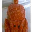Wonderful LOBSTER Shaped Covered Condiment Dish