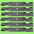 6 - 11180 Lawnmower Blades AYP/Roper/Sears 187254, 187256, Stens 340-226