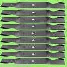 9 - 11180 Lawnmower Blades AYP/Roper/Sears 187254, 187256, Stens 340-226