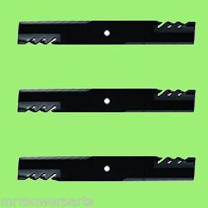 3 - G6 Oregon Gator Fusion Mulcher Blades - Bunton # PL4206 Ferris 1521227