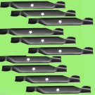 10 - Rotary 6124 Lawn Mower Blades AYP/Roper/Sears 127842, Prime Line 7-04983