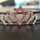 Pink Crown Hairband (H017)