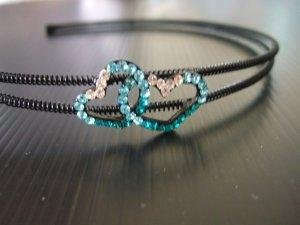 Double-Heart Hairband (H021)