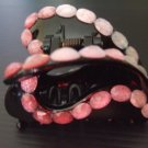 Pink Butterfly hairclip (H009)