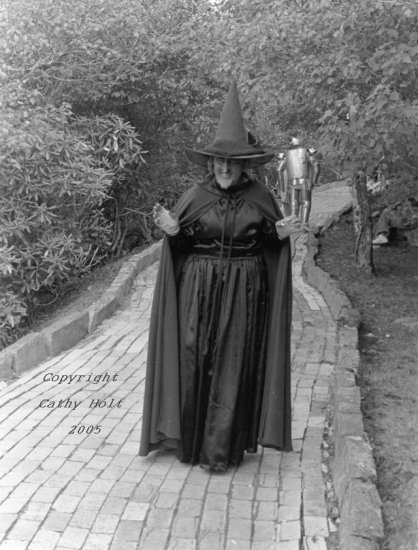 Wicked Witch/Tin Man on the Yellow Brick Road, Land of Oz, Beech Mountain, NC