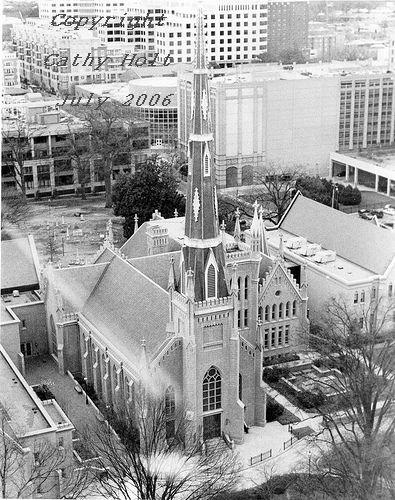 Presbyterian Church from above