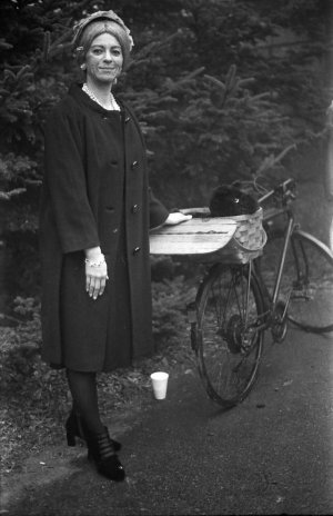 Elvira Gulch on her bike, Land of Oz, Beech Mountain, NC