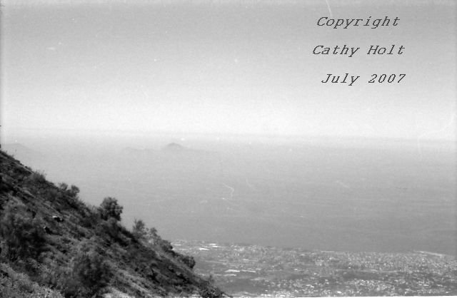 View from  the top of Mt. Vesuvius #4
