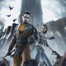 Half Life 2 HF2 Shot Game 32x24 Poster