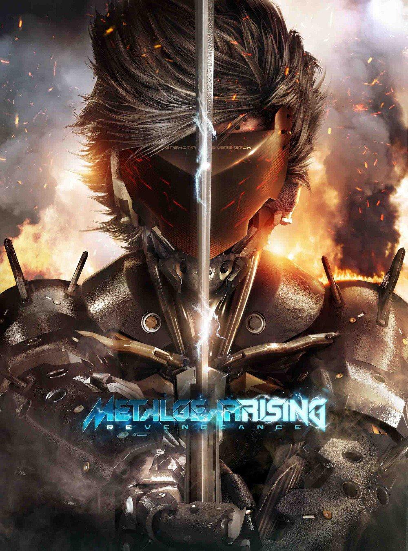 """MGR Raiden Full Battle Poster 26"""""""