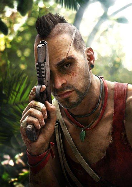 "FarCry 3 Gun On Head Poster 33"""